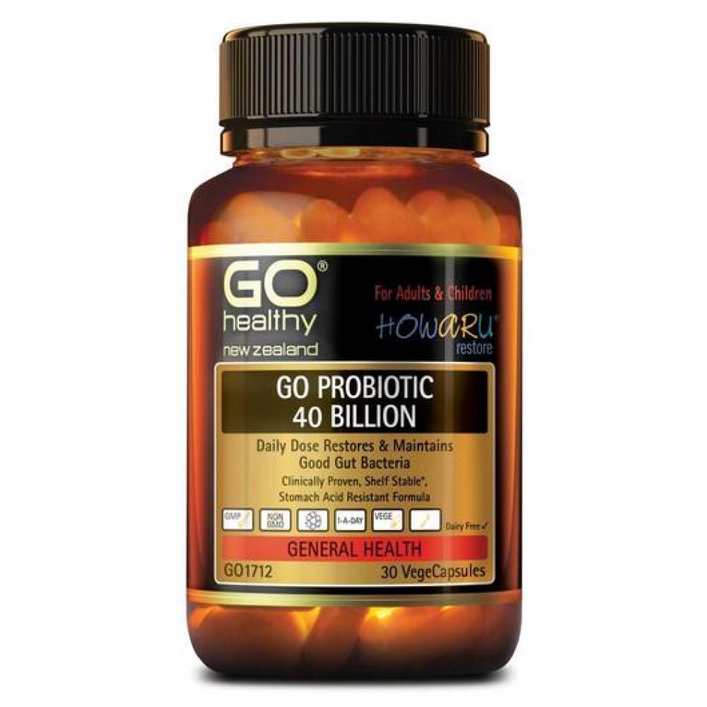 GO Healthy 高之源 400亿 益生菌胶囊 30粒