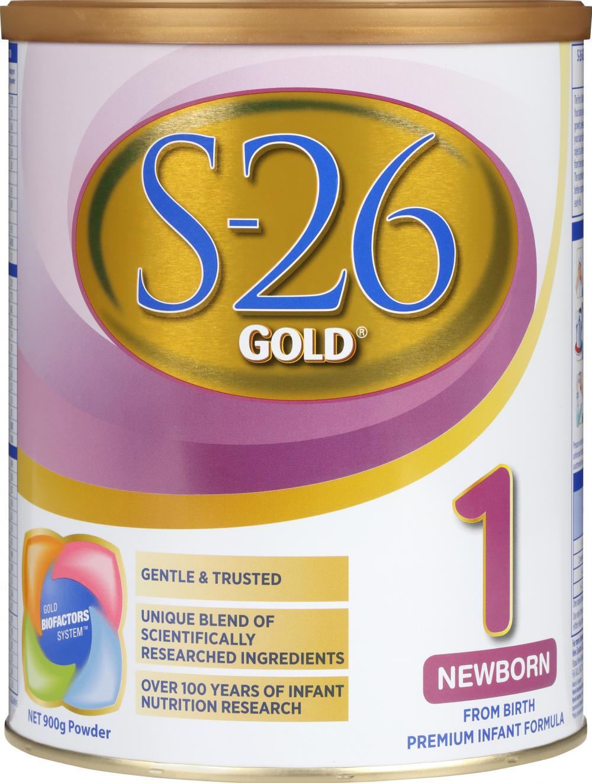 S26 惠氏金装婴幼儿奶粉 1段*6罐