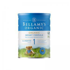 【包邮】贝拉米Bellamy有机婴儿奶粉一段6罐